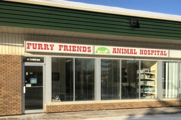 furry friends animal hospital clinic exterior
